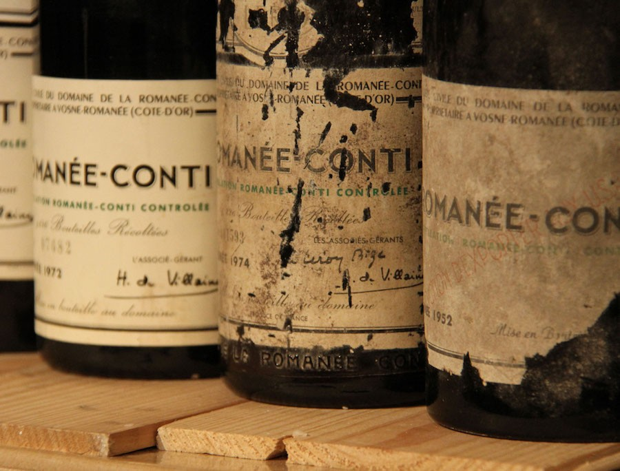 Des vins de France exceptionnels vendu aux enchères